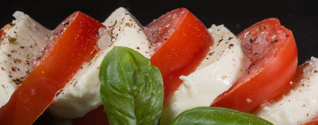 Tomaten Mozzarella © Heiko-Stuckmann / Pixelio